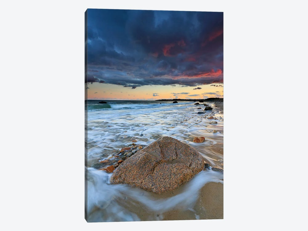 Squibnocket Sunset II by Katherine Gendreau 1-piece Canvas Wall Art