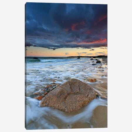 Squibnocket Sunset II Canvas Print #WAC2469} by Katherine Gendreau Canvas Art Print