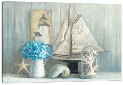 Summer House Crop Canvas Art Print