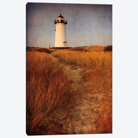 To the Harbor Light Canvas Print #WAC2477} by Katherine Gendreau Canvas Print