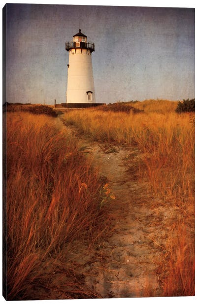 To the Harbor Light Canvas Art Print