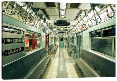 1963 NYC Subway Canvas Art Print