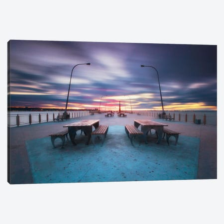 69th Street Pier Canvas Print #WAC2479} by Katherine Gendreau Canvas Wall Art