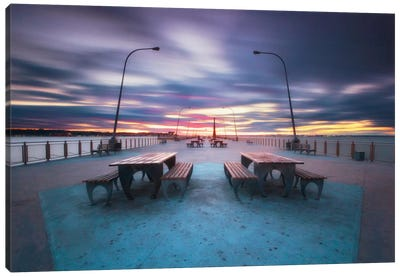 69th Street Pier Canvas Art Print