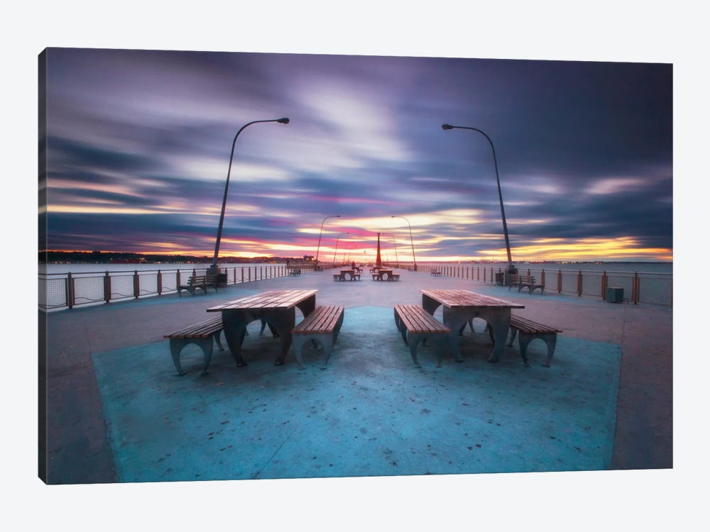 69th Street Pier by Katherine Gendreau 1-piece Art Print