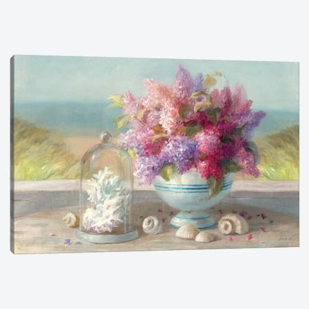 Seaside Spring Crop Canvas Print #WAC247} by Danhui Nai Canvas Art Print