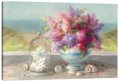 Seaside Spring Crop Canvas Art Print