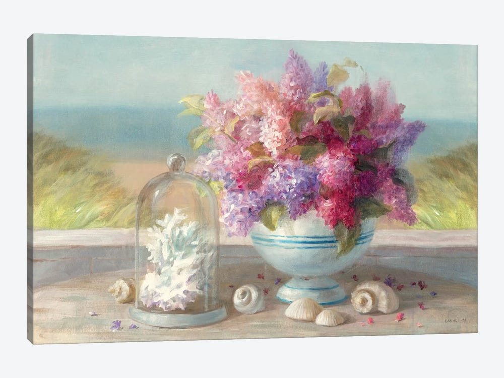 Seaside Spring Crop by Danhui Nai 1-piece Canvas Wall Art