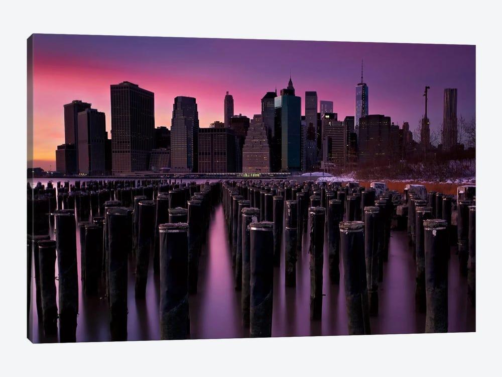 Manhattan Glow by Katherine Gendreau 1-piece Canvas Wall Art