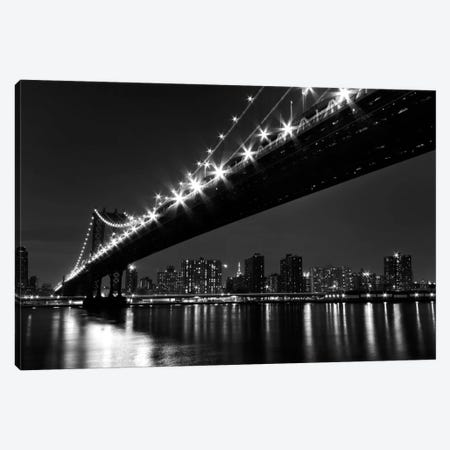 Manhattan Bridge Canvas Print #WAC2482} by Katherine Gendreau Canvas Print