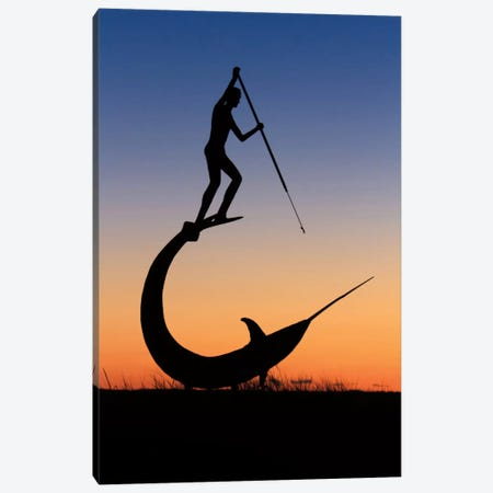 The Hunt Canvas Print #WAC2493} by Katherine Gendreau Canvas Wall Art