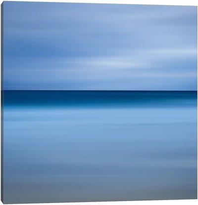 Beach Blues Canvas Print #WAC2498