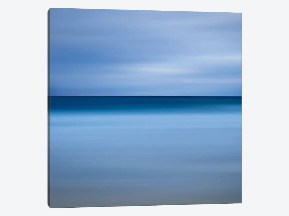 Beach Blues by Katherine Gendreau 1-piece Canvas Artwork
