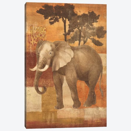 Animals on Safari IV Canvas Print #WAC24} by Albena Hristova Canvas Artwork
