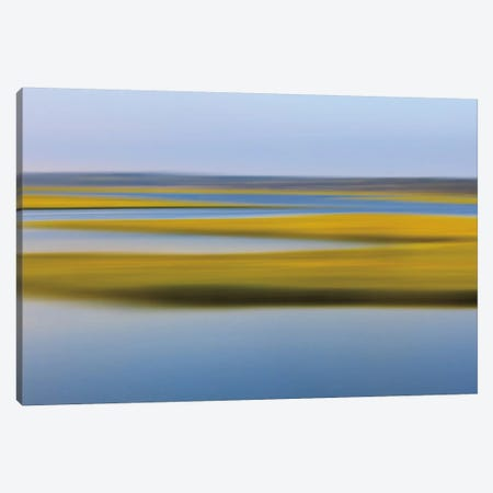 Evening Marsh Canvas Print #WAC2500} by Katherine Gendreau Canvas Art