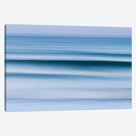 Evening Waves Canvas Print #WAC2501} by Katherine Gendreau Canvas Wall Art