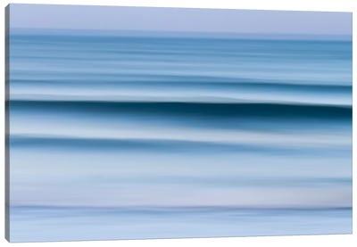 Evening Waves Canvas Print #WAC2501