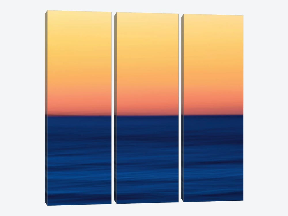 Fire Water by Katherine Gendreau 3-piece Canvas Art