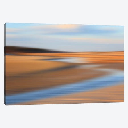 Low Tide Canvas Print #WAC2504} by Katherine Gendreau Art Print