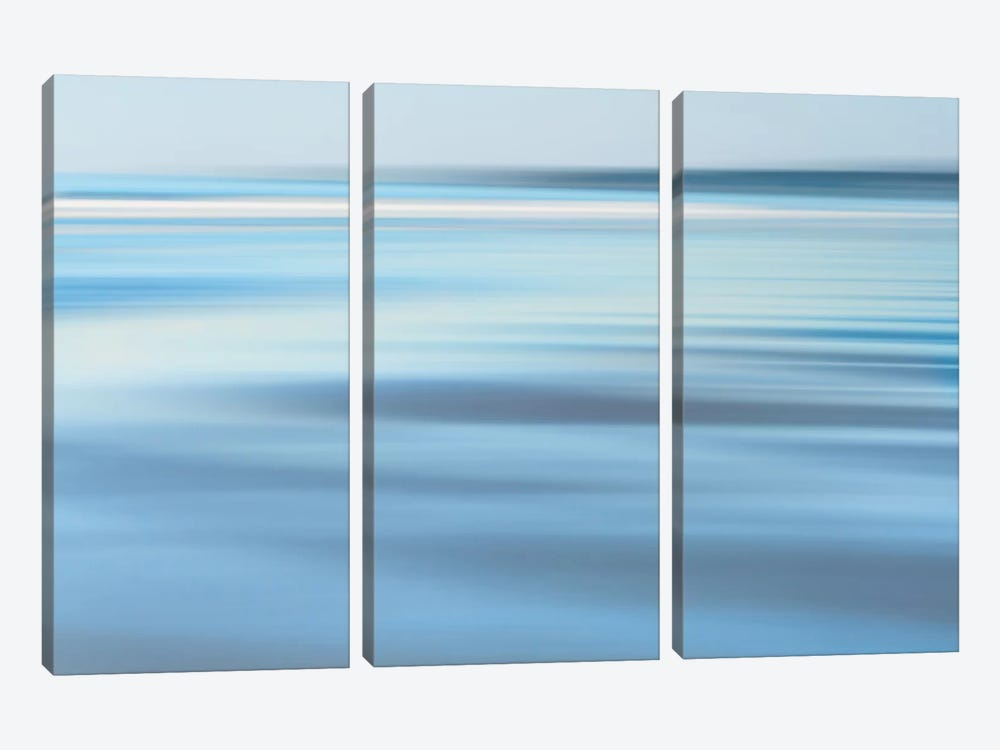 Low Tide at Dusk by Katherine Gendreau 3-piece Canvas Print