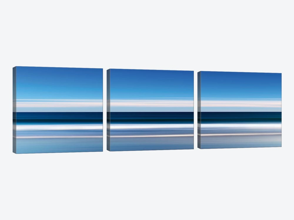Lucy Vincent Waves by Katherine Gendreau 3-piece Canvas Artwork