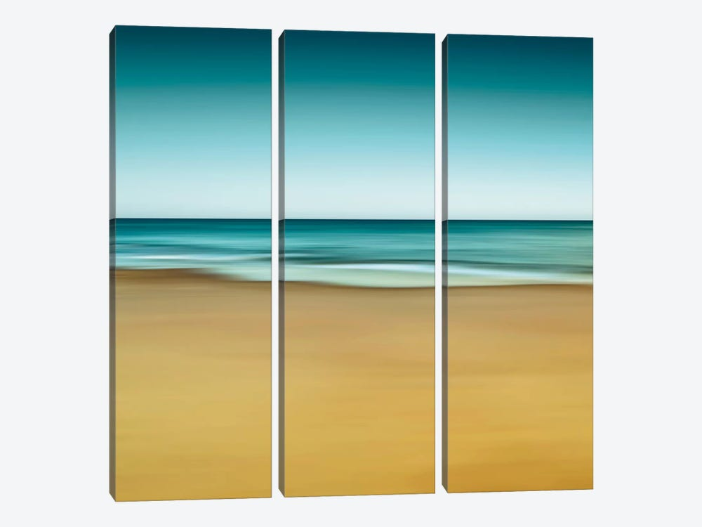 Montauk Mood by Katherine Gendreau 3-piece Canvas Art
