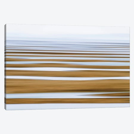 Sand Flats in Fog Canvas Print #WAC2510} by Katherine Gendreau Canvas Art Print