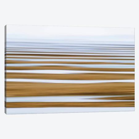 Sand Flats in Fog Canvas Print #WAC2510} by Katherine Gendreau Canvas Art Print