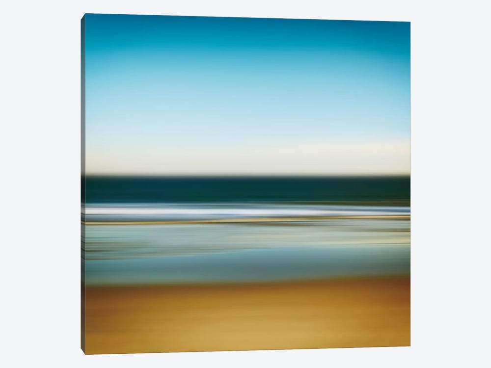Sea Stripes I by Katherine Gendreau 1-piece Canvas Wall Art
