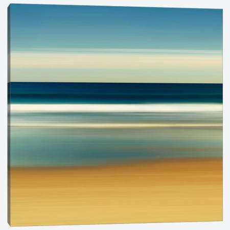 Sea Stripes II Canvas Print #WAC2512} by Katherine Gendreau Canvas Print
