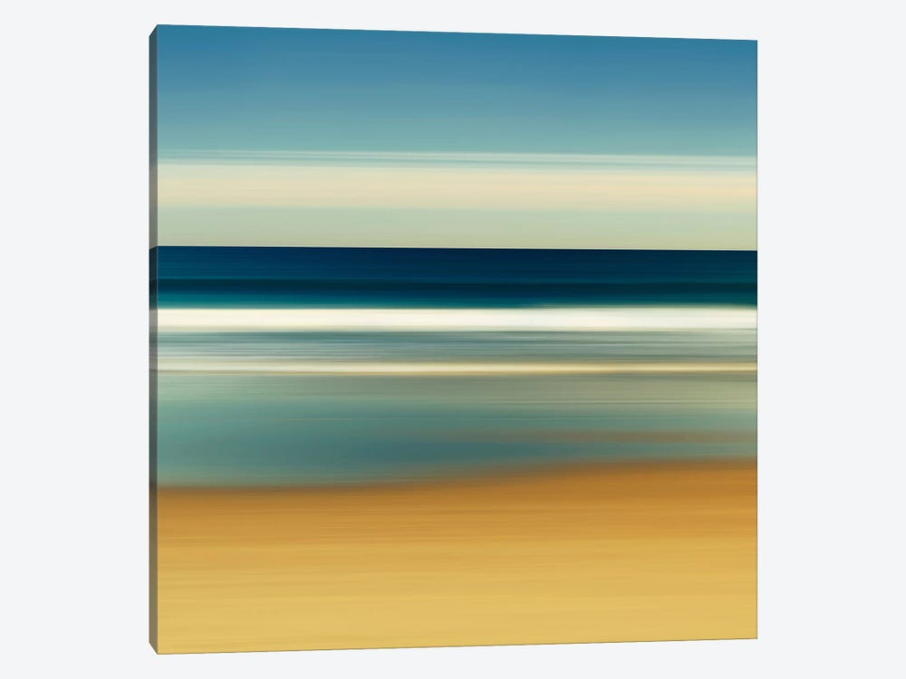 Sea Stripes II by Katherine Gendreau 1-piece Canvas Print