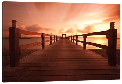 Bridge to Heaven Canvas Art Print