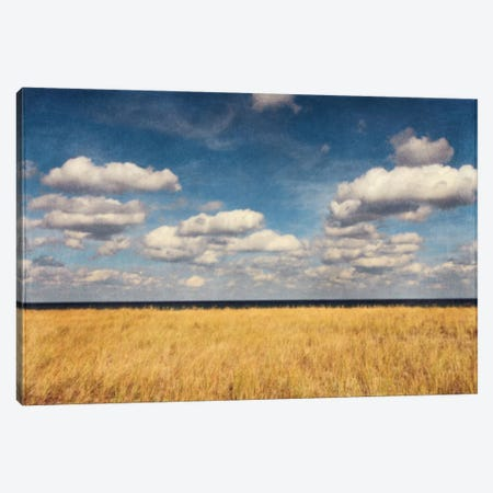 Bend in the Road Beach Canvas Print #WAC2515} by Katherine Gendreau Canvas Wall Art