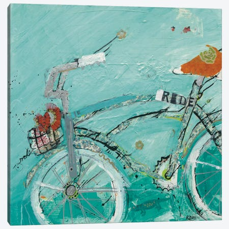 Ride Canvas Print #WAC2516} by Kellie Day Canvas Wall Art