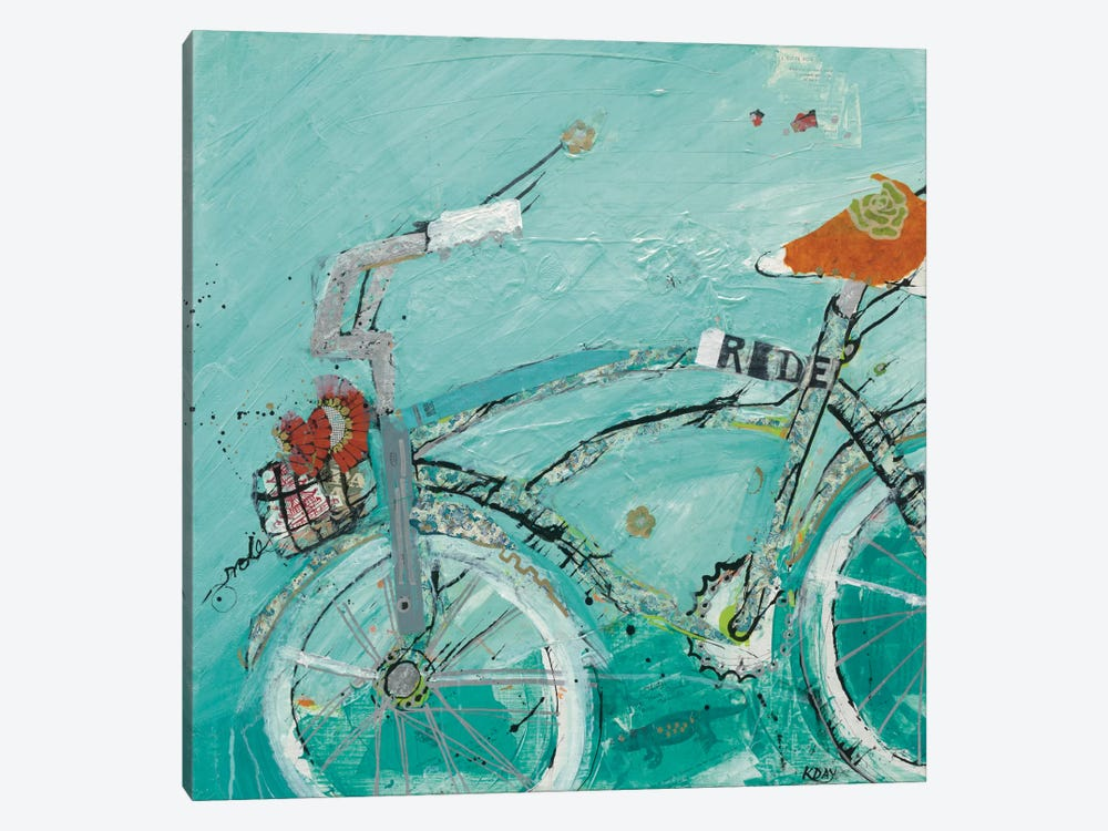 Ride by Kellie Day 1-piece Art Print