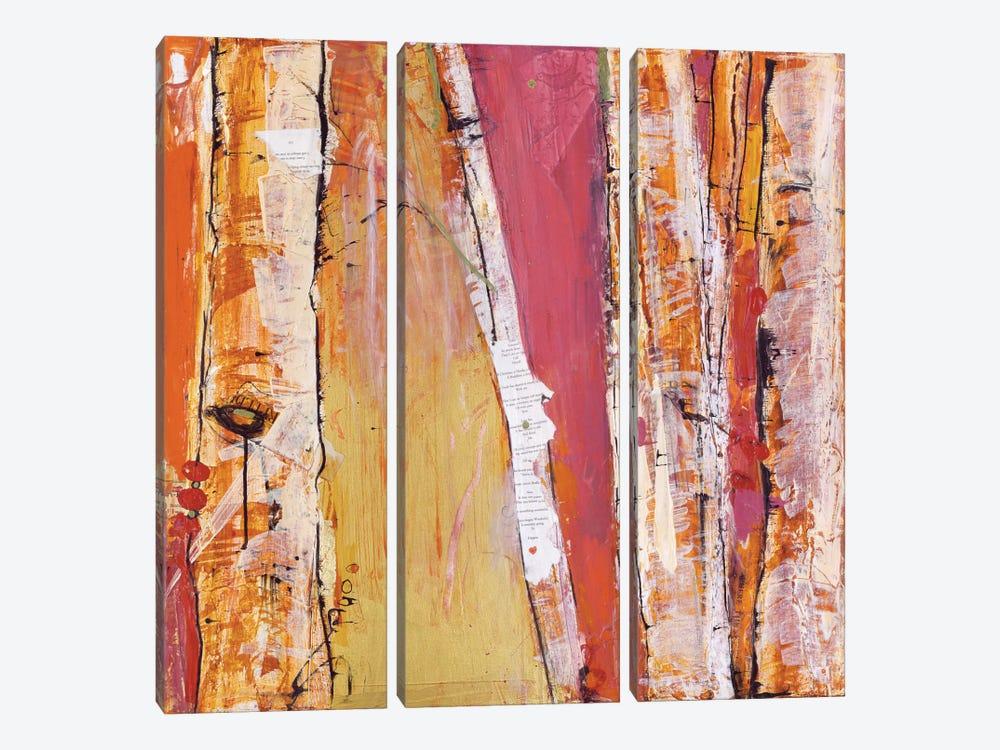Where the Sun Sleeps I by Kellie Day 3-piece Canvas Print