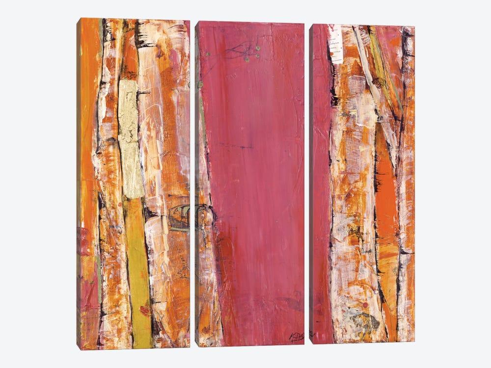 Where the Sun Sleeps II by Kellie Day 3-piece Canvas Art