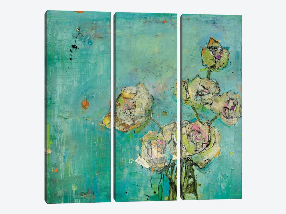 Effulgence by Kellie Day 3-piece Canvas Artwork