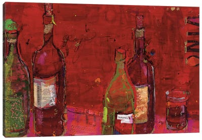 Vino Rojo Canvas Print #WAC2529