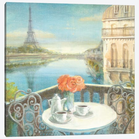 Morning on the Seine Canvas Print #WAC252} by Danhui Nai Canvas Print