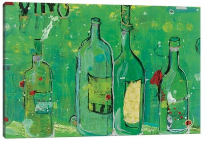 Vino Blanco Canvas Art Print