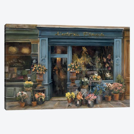 L'artisan Fleuriste Canvas Print #WAC2574} by Marilyn Hageman Canvas Wall Art