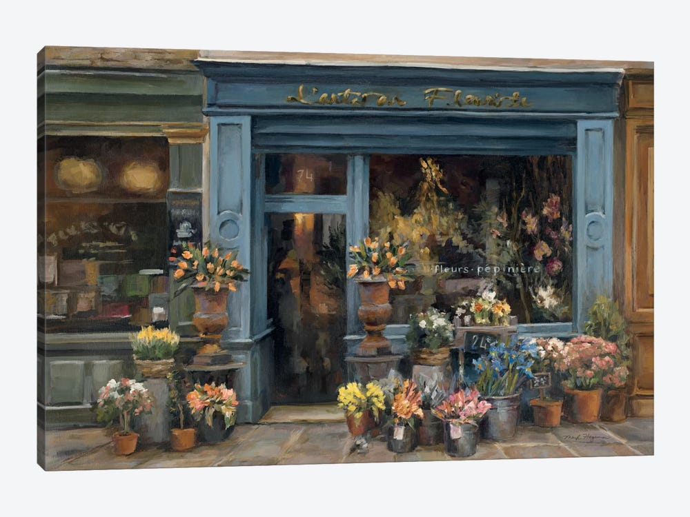L'artisan Fleuriste by Marilyn Hageman 1-piece Canvas Art Print