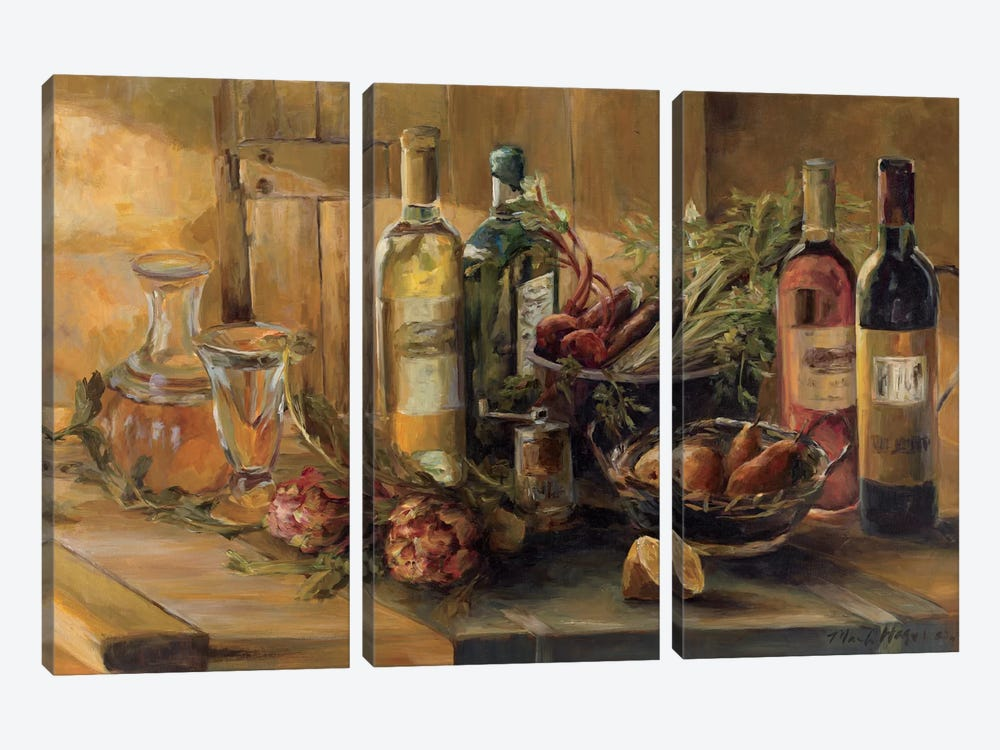 Fruits of the Valley by Marilyn Hageman 3-piece Art Print