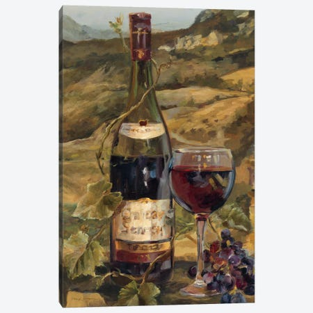 Tuscan Valley Red Canvas Print #WAC2594} by Marilyn Hageman Canvas Art