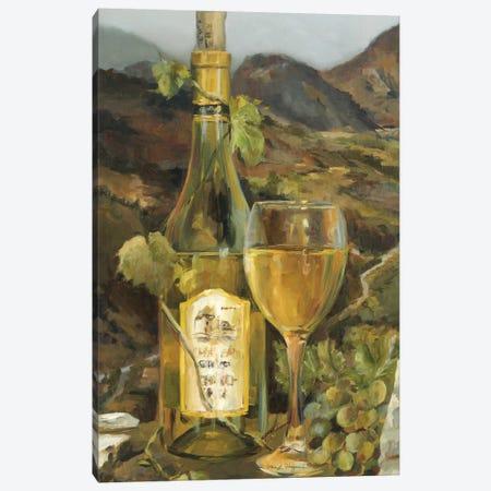 Tuscan Valley White Canvas Print #WAC2595} by Marilyn Hageman Canvas Art