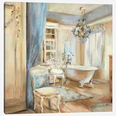 Boudoir Bath I Canvas Print #WAC2598} by Marilyn Hageman Canvas Art Print
