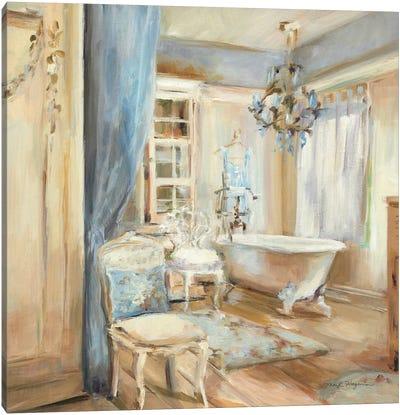 Boudoir Bath I Canvas Art Print
