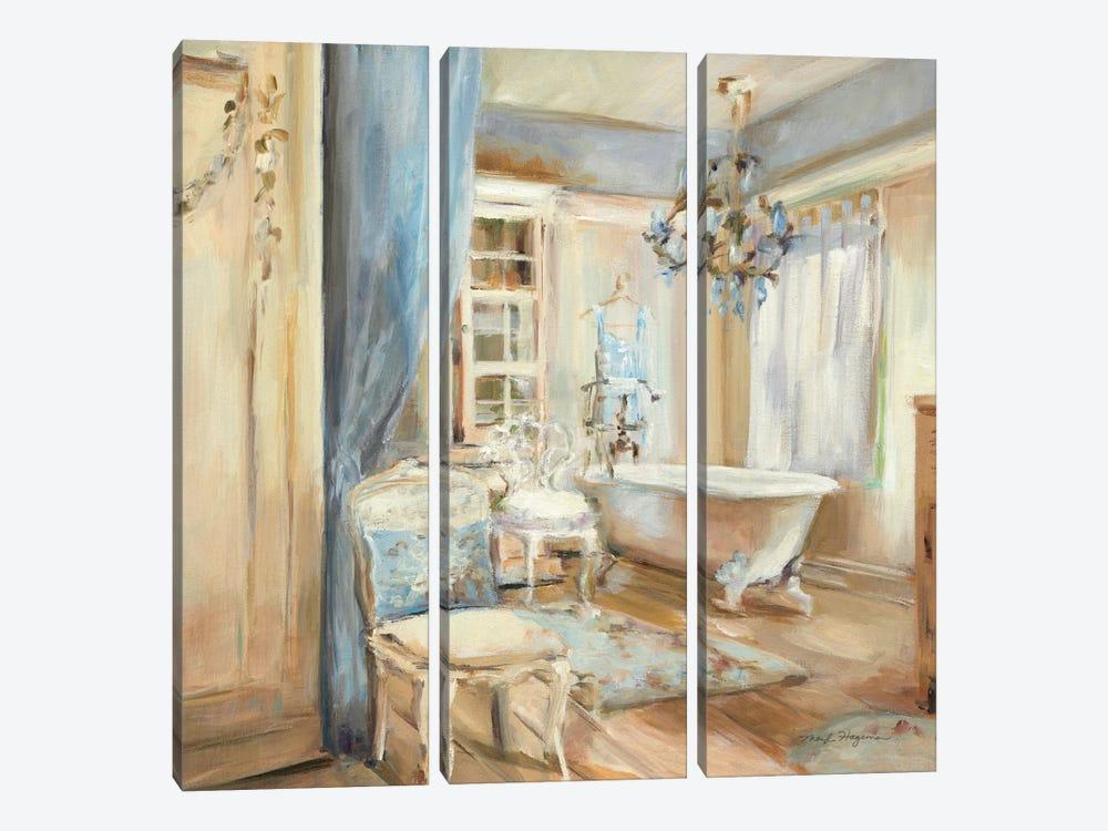 Boudoir Bath I by Marilyn Hageman 3-piece Art Print
