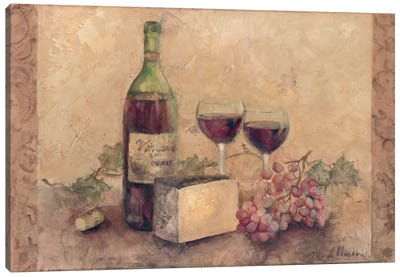 California Cabernet Canvas Art Print